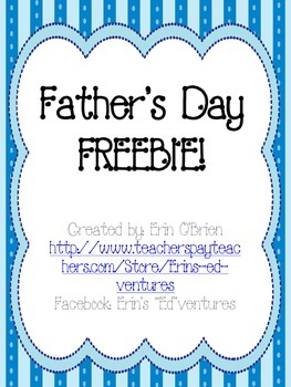 Father's Day FREEBIE