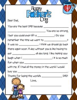 Father's Day {FREEBIE}