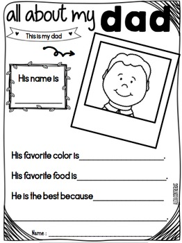 Father's Day FREEBIE {English and Spanish}