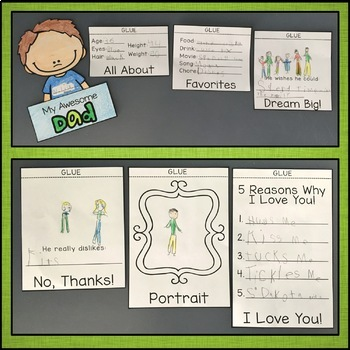 Fathers Day Flip Book Activity
