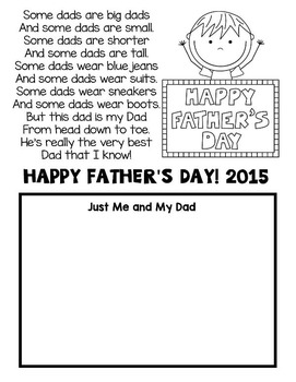 Father's Day Free--Father's Day Card and Poem