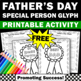 FREE Father's Day Coloring Page{ Greatest Dad Award Gift Idea }