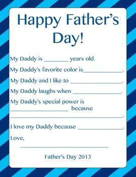 Father's Day Freebie