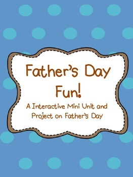 Father's Day Fun- Activity and Art Projects