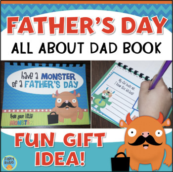 Father's Day Gift Book Activity