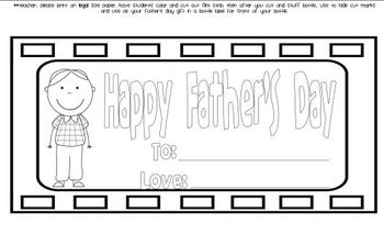 Father's Day Gift  in A Bottle FREEBIE