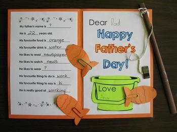 Father's Day Idea... GO FISHING CARDS!