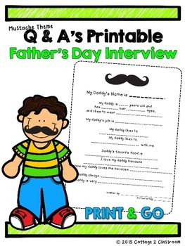Father's Day Interview