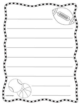 Freebie!  Father's Day letter writing papers