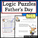 Logic Puzzle for Fourth Grade Father's Day