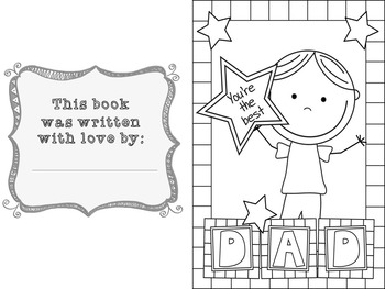 Father's Day Writing Activity K-3
