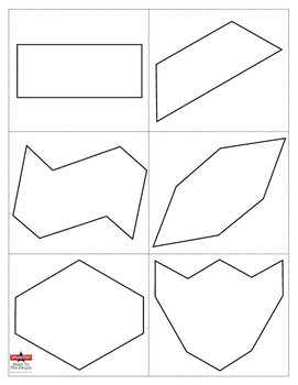 Fathers Day Math Activity: Geometric Puzzle & Booklet for Dad!