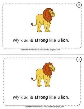 Father's Day Writing Activity and Reader