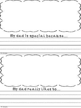 Father's Day Mini-Book Freebie!