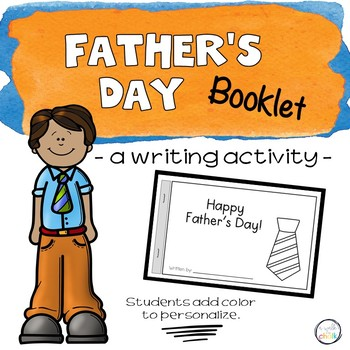 Father's Day Mini-book