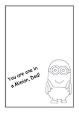 Fathers Day- Minion Card