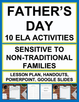 Fathers Day & Mothers Day Activity Bundle: Sensitive to Non-Traditional Families