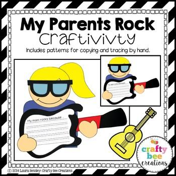 "Father's Day ""My Dad Rocks!"" Craftivity"