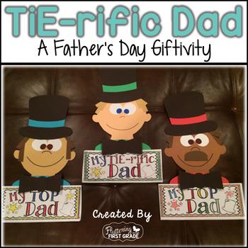 Father's Day ~ My TiE-rific Dad Craft Giftivity