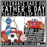 Digital Father's Day Writing Activity Flip Book, Gift Coupon Book