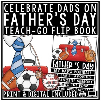 Father's Day Flip Book • Father's Day Writing