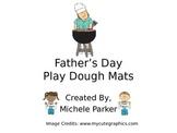 Father's Day Play Dough/Play-Doh/Playdough Mats