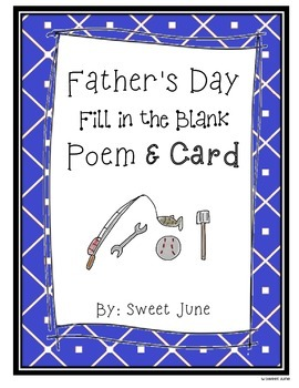 Father's Day Poem and Card