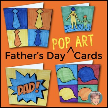 Father's Day Pop Art Cards