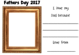 Fathers Day Portrait Template