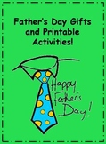 Father's Day Printable Gifts and Activities