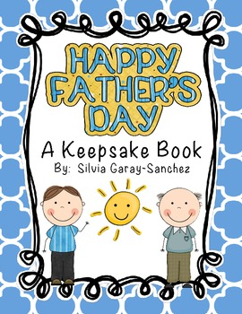 Father's Day Printable Keepsake Book
