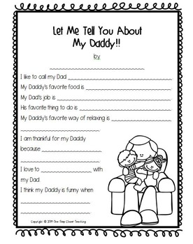 Father's Day Printables - Quick and Easy!