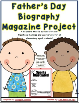 Father's Day Project  -  Magazine 2017 Template Papers