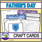 Father's Day Activities Craft and Cards For Fathers, Grandpas and Special People