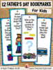 Fathers Day Riddle Bookmarks