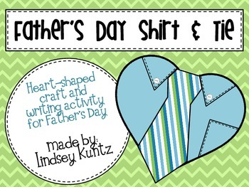 Father's Day Shirt and Tie