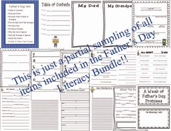 Father's Day Simile Poem {Printable activity}