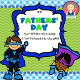 Fathers' Day Superhero Book and Crown