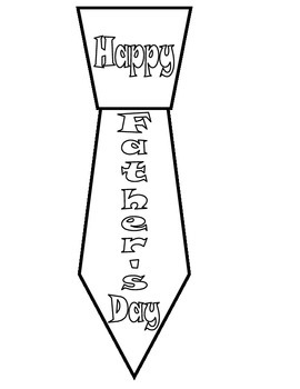 Father's Day Tie Book