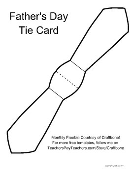 fathers day tie card teaching resources teachers pay teachers