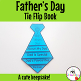 Fathers Day Tie Flip Book