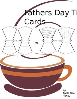 Fathers Day  Tie cards