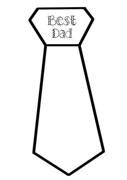 Father's Day Ties 4 Versions