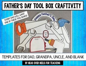 Father's Day Tool Box Craftivity