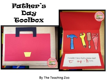 Father's Day Toolbox Card Craftivity by The Teaching Zoo | TpT
