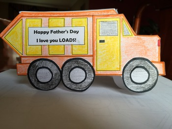 Father's Day Craft: Truckload of Love
