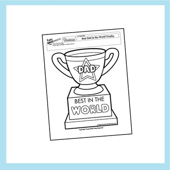 Father's Day Worksheets - 5 Pack