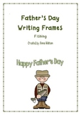 Father's Day Writing Frames - Fishing