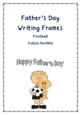 Father's Day Writing Frames - Soccer