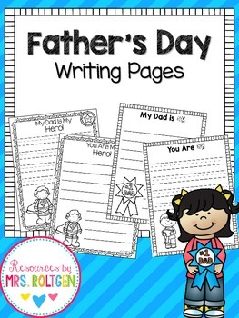 Father's Day Writing Pages